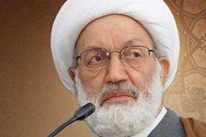شیخ عیسی قاسم، رهبر شیعیان بحرین،